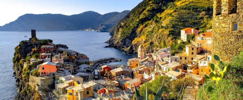 Cruise package including Spain, Italy and France