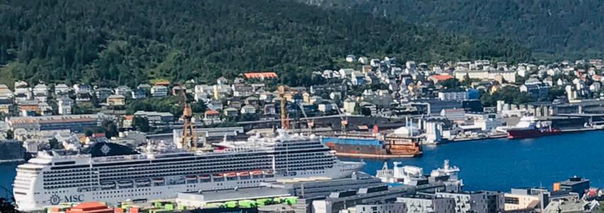 Cruise the Norwegian fjords